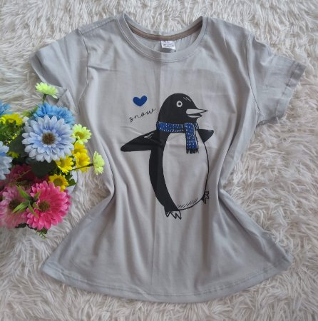 Blusa Feminina Para Revenda Pinguim