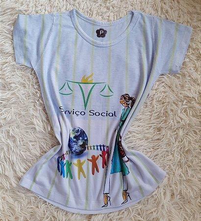 T-Shirt Profissão No Atacado Serviço Social