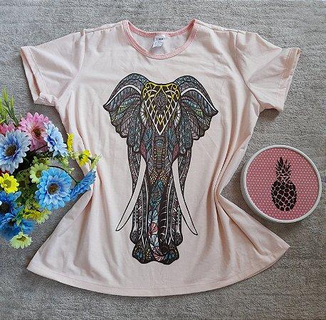 Tee Feminina no Atacado Elefante Grande