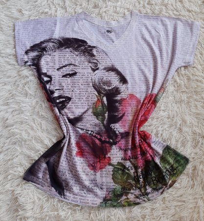Tee Feminina no Atacado Marilyn