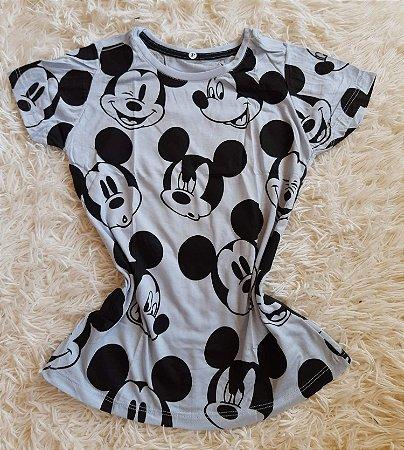 Blusa Feminina Para Revenda Mickey Rostos