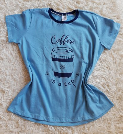 TShirt Feminina Para Revenda Coffee