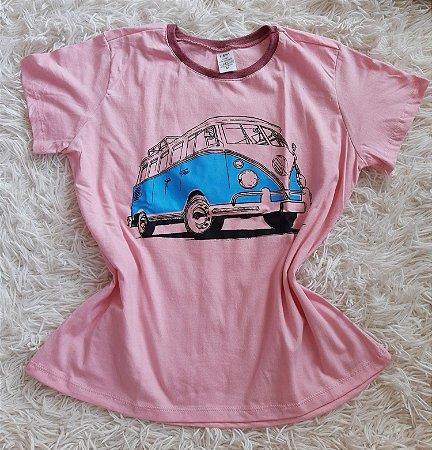 T shirt Feminina no Atacado Kombi