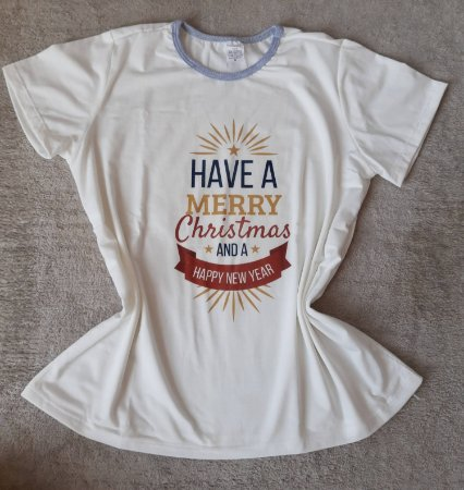 Blusa Feminina no Atacado Natal Merry Christmas