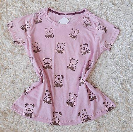 T-shirt Feminina no Atacado Ursos