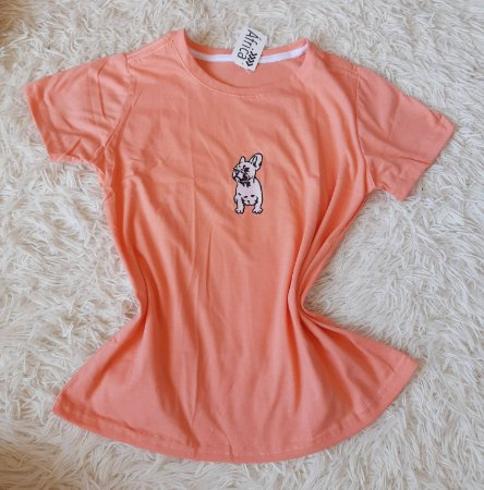 T-shirt Feminina no Atacado Dog