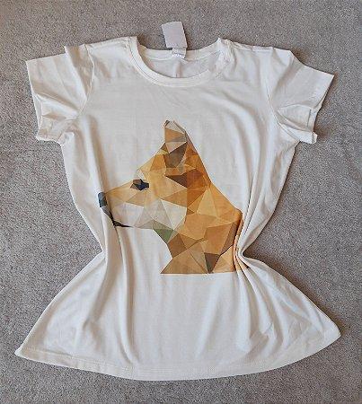 T-Shirt Feminina no Atacado Dog Perfil