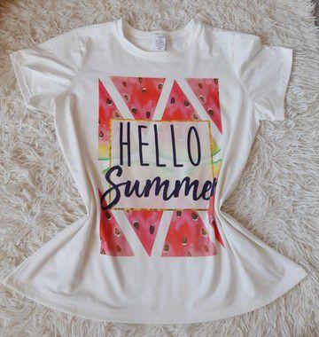Blusa Feminina no Atacado Hello Summer