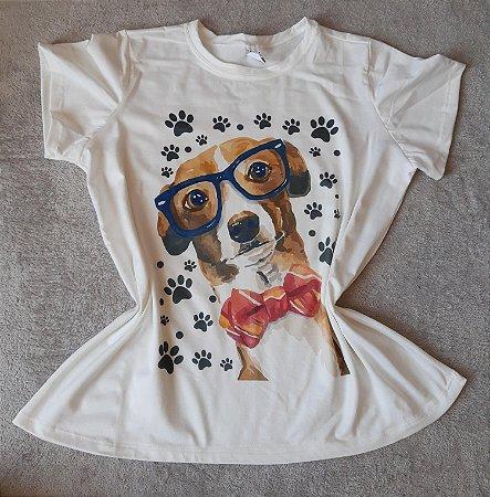 Blusa Feminina Para Revenda Dog Óculos