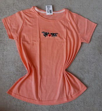 T-Shirt Feminina Para Revenda Abelhas Coração