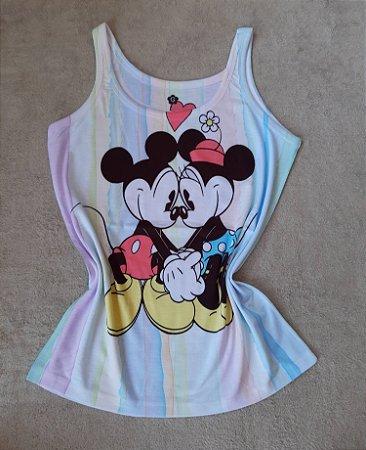 Regata Feminina no Atacado Mickey e Minnie