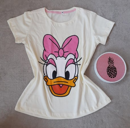 T-Shirt Feminina no Atacado Margarida
