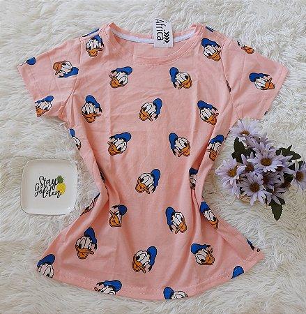 T shirt Feminina no Atacado Pato Donald