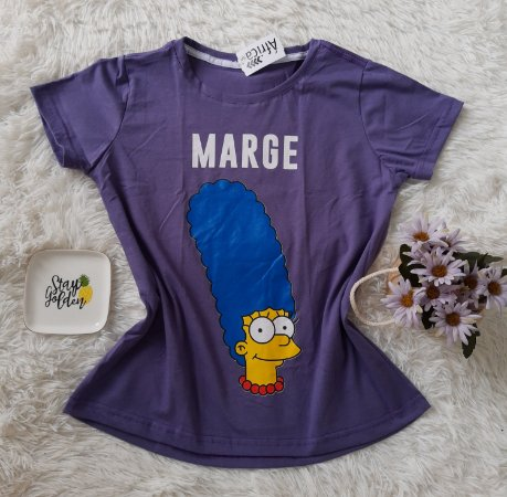 T Shirt Feminina No Atacado Marge