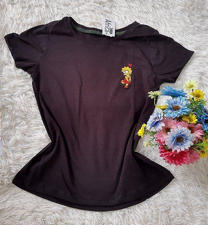 T Shirt Feminina No Atacado Lisa