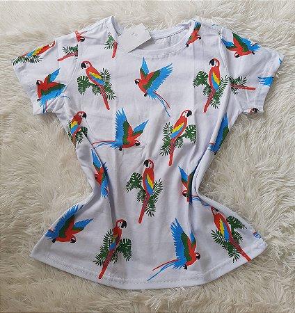 T-Shirt Feminina no Atacado Araras