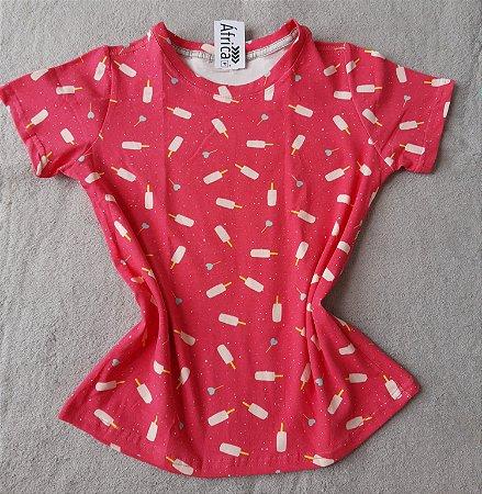 T-Shirt Feminina no Atacado Picolés