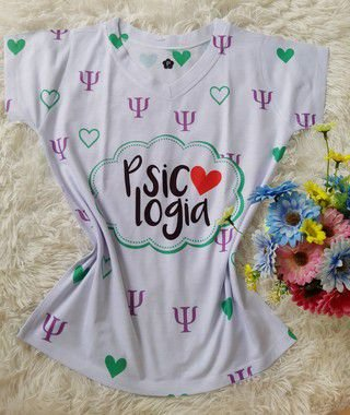 T-Shirt Profissão No Atacado Psicologia