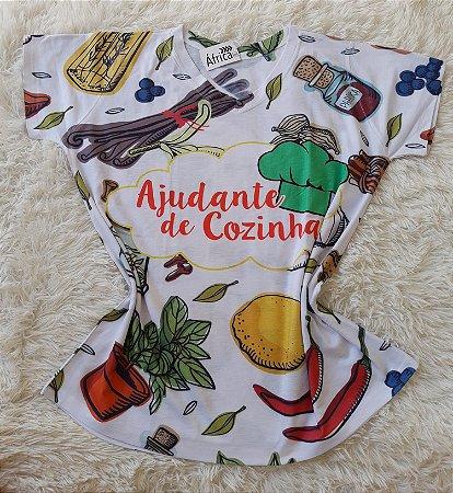 T-shirt Ajudante de cozinha