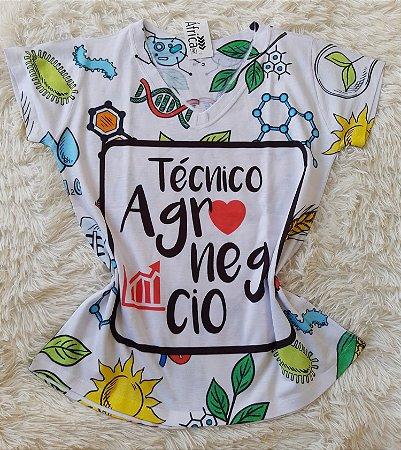 T-shirt Feminina no Atacado Técnico Agronegócio