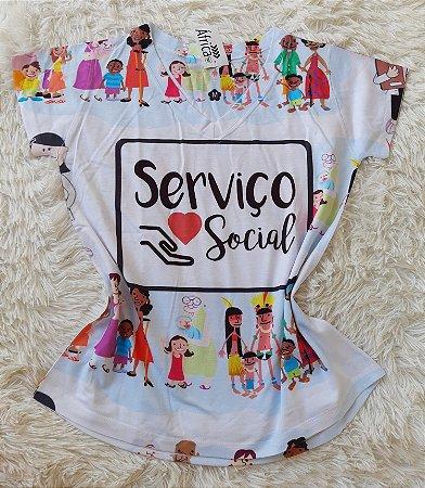 T-shirt Serviço Social