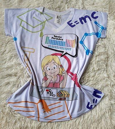 T-Shirt Feminina No Atacado Profissão Quimíca