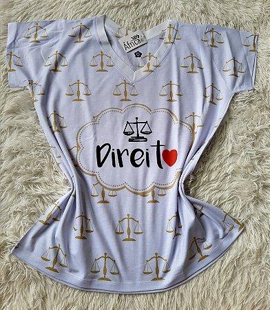 T-Shirt Feminina No Atacado Profissão Direito