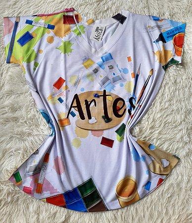 T-Shirt Feminina No Atacado Profissão Artes