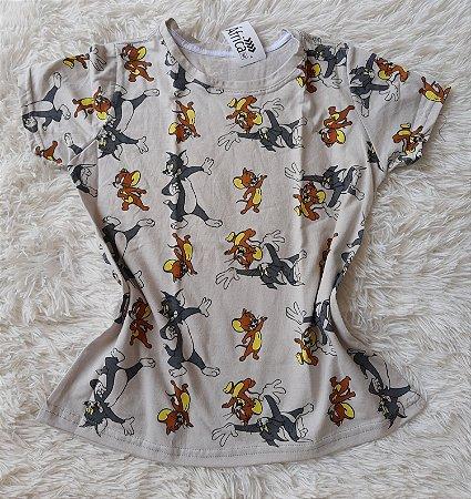 Blusa Feminina no Atacado Tom e Jerry