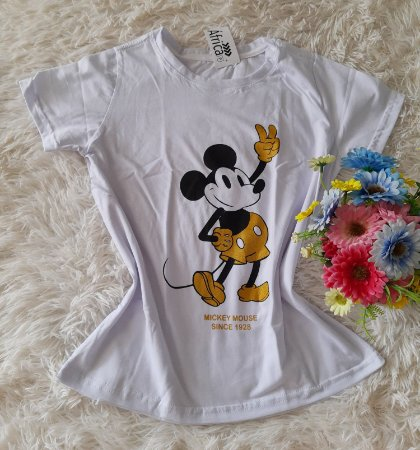 T Shirt Feminina no Atacado Mickey