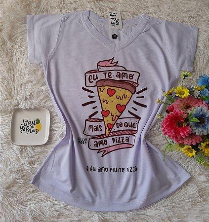 Blusinha Feminina Para Revenda Pizza