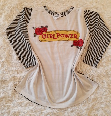 Blusa Feminina Manga Longa   Girl Power