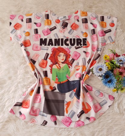 T-Shirt Profissão No Atacado Manicure