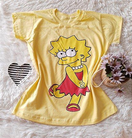 T-Shirt Atacado Lisa Amarelo