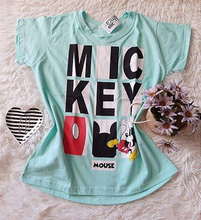 Camiseta no Atacado Mickey Mouse Azul
