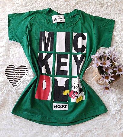 Camiseta no Atacado Mickey Mouse Verde