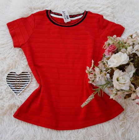T-Shirt Feminina Vermelho