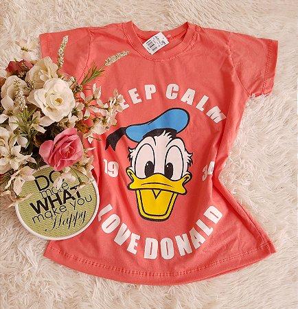 Camiseta Atacado  Donald Coral