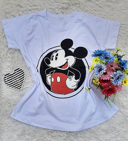 T Shirt no Atacado Mickey Branca