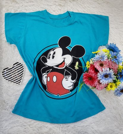 T Shirt no Atacado Mickey Verde