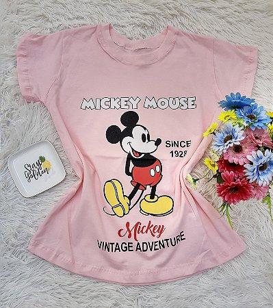 T Shirt no Atacado Mickey Mouse Rosa