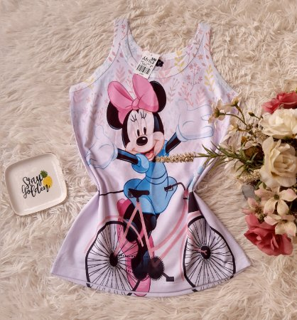Regata No Atacado Minnie Bike
