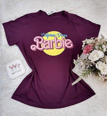 Camisa No Atacado Barbie Roxo