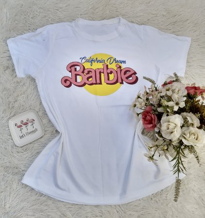 Camisa  No Atacado Barbie Off-White