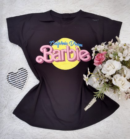 Camisa  No Atacado Barbie Preto