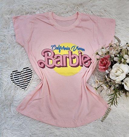 Camisa  No Atacado Barbie Rosa