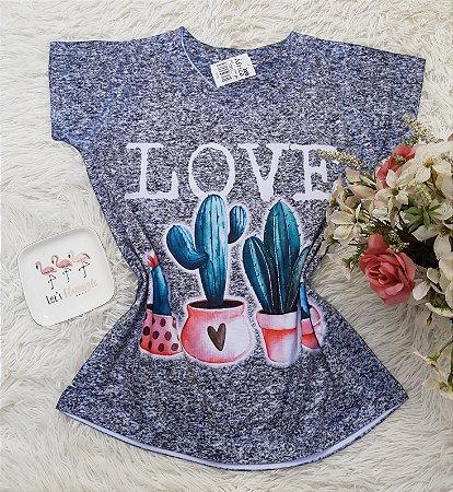 T-Shirt No Atacado Cacto Love
