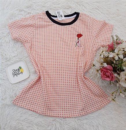 Camiseta No Atacado Rosa