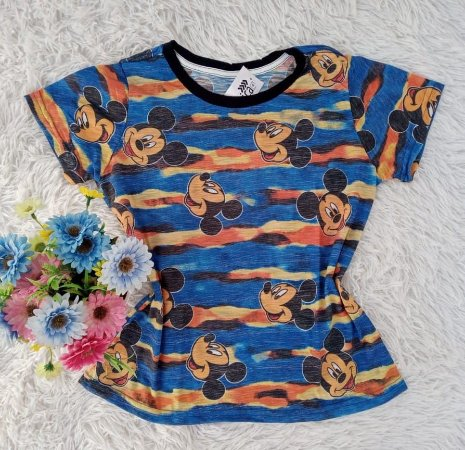 Camiseta No Atacado Mickeys Tie Dye