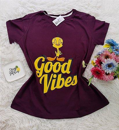 Camiseta No Atacado Good Vibes